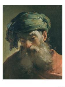 Head of an Old Man in a Turban, Vasari Corridor, Uffizi Gallery, Florence by Ubaldo Gandolfi