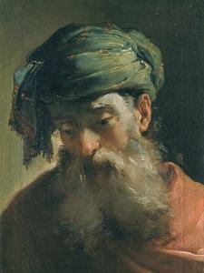 Head of an Old Man in a Turban, Vasari Corridor, Uffizi Gallery, Florence by Ubaldo Gandolfi