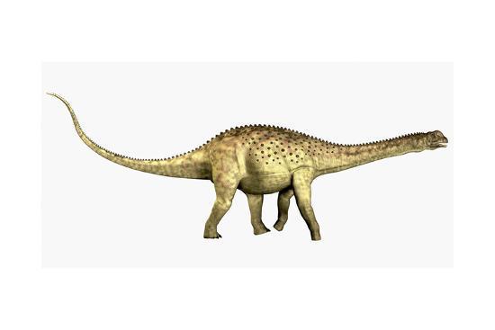 Uberabatitan Sauropod Dinosaur from the Cretaceous Period-Stocktrek Images-Art Print