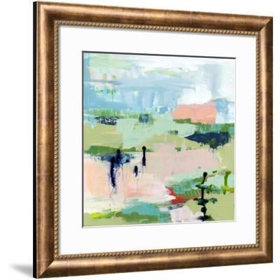 Ubiquitous Abstract-Pamela J. Wingard-Framed Art Print