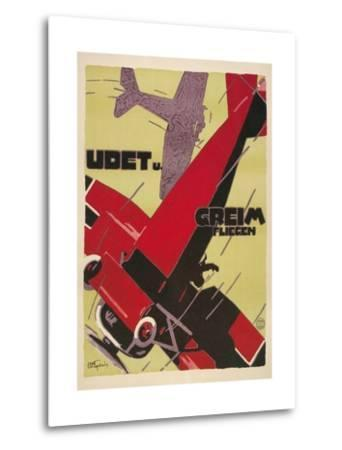 Udet and Greim Air Show Aviation Poster