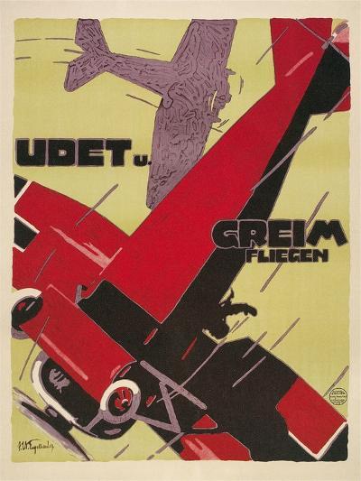 Udet Und Greim Aviation--Art Print