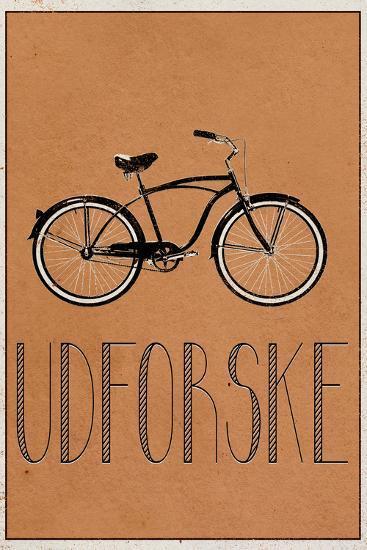UDFORSKE (Danish -  Explore)--Art Print