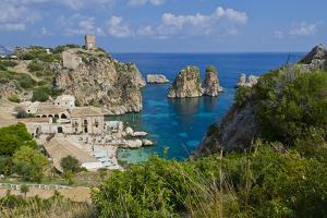 Italy, Sicily, Tonnara Di Scopello, Tuna Bay by Udo Bernhart
