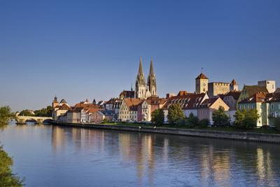 Germany, Bavaria, Upper Palatinate, Danube, Regensburg (City