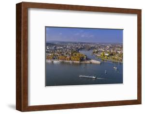 Germany, Rhineland-Palatinate, Upper Middle Rhine Valley, Koblenz, Cityscape by Udo Siebig