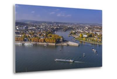 Germany, Rhineland-Palatinate, Upper Middle Rhine Valley, Koblenz, Cityscape