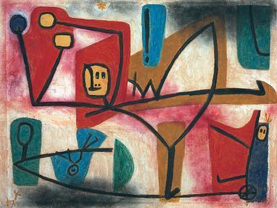 Uebermut (Arrogance)-Paul Klee-Giclee Print