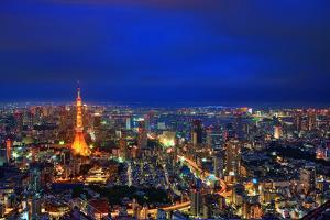 Tokyo Night View by uemii