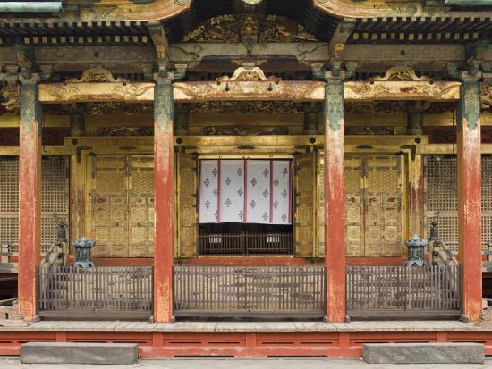 Ueno Toshogu Shrine, Tokyo, Central Honshu, Japan-Schlenker Jochen-Photographic Print