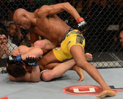 UFC 148: Jul 7, 2012 - Anderson Silva vs Chael Sonnen-Donald Miralle-Photo