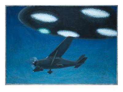 UFO Near Melbourne, Australia-Michael Buhler-Giclee Print