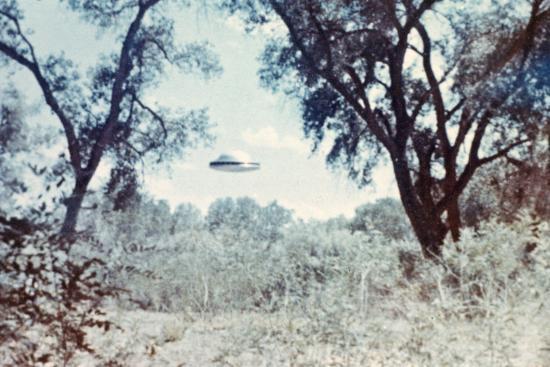 UFOs, New Mexico, Villa-Paul Villa-Photographic Print