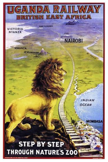 Uganda Railway--Premium Giclee Print