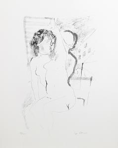 Nudes by Ugo Attardi