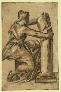 Fortitude, Between 1500 and 1610 by Ugo da Carpi