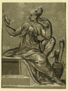 Prudence, Between 1500 and 1610 by Ugo da Carpi