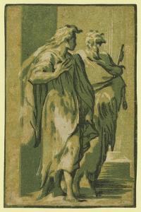 Saints Peter and John, Between 1500 and 1610 by Ugo da Carpi