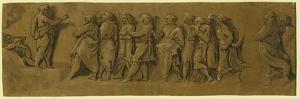 St. Peter Preaching the Gospel, Between 1515 and 1535 by Ugo da Carpi