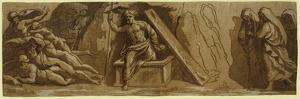 The Resurrection, Between 1515 and 1535 by Ugo da Carpi