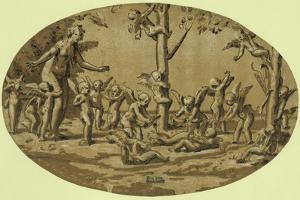 Venus and Cupids, Between 1515 and 1535 by Ugo da Carpi