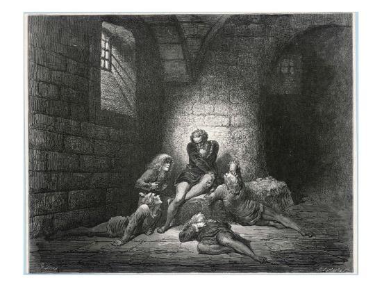 Ugolino della Gherardesca--Giclee Print