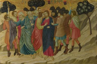 The Betrayal of Christ (From the Basilica of Santa Croce, Florenc), C. 1324-1325