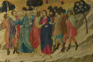 The Betrayal of Christ (From the Basilica of Santa Croce, Florenc), C. 1324-1325 by Ugolino Di Nerio