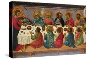The Last Supper, 1310-1315 by Ugolino Di Nerio