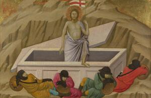 The Resurrection (From the Basilica of Santa Croce, Florenc), C. 1324-1325 by Ugolino Di Nerio
