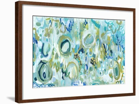 Ujjayi Pranayama-Carrie Schmitt-Framed Giclee Print