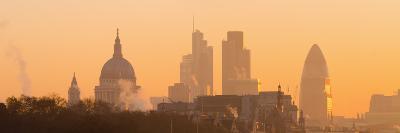 UK, England, London, City of London Skyline at Sunrise-Alan Copson-Photographic Print