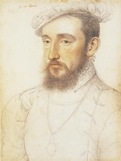UK, London, Portrait of Henry II of the House of Valois--Giclee Print