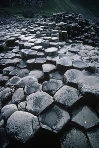 UK, Northern Ireland, County Antrim, Giant's Causeway, Prismatic Basalt Columns