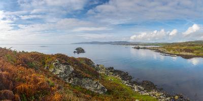UK, Scotland, Argyll and Bute, Islay, Loch Laphroaig Beside Laphroaig Distillery-Alan Copson-Photographic Print