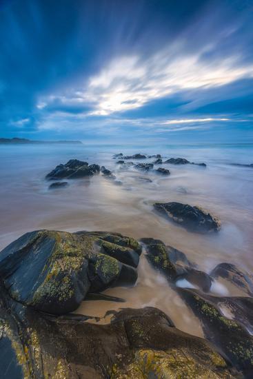 UK, Scotland, Argyll and Bute, Islay, Saligo Bay-Alan Copson-Photographic Print