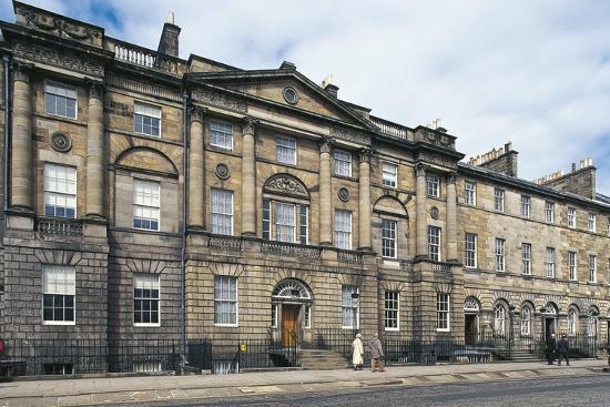 UK, Scotland, Edinburgh, Georgian House--Giclee Print