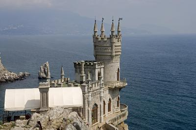 Ukraine, Crimea, Alupka, Surroundings of Yalta, Cape Ai-Todor, on Black Sea, Lastochkino Gnezdo--Giclee Print