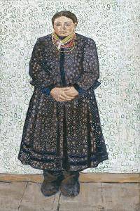 Ukrainian Peasant Woman, 1910-1911