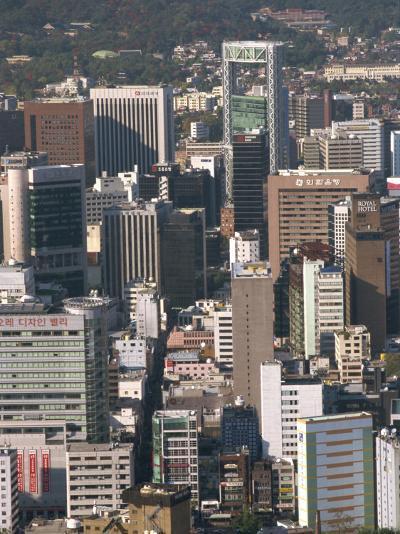 Ulchiro Central Business District, Seoul, South Korea-Waltham Tony-Photographic Print