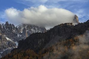 A Cloud Obscured the Cimon Della Pala by Ulla Lohmann
