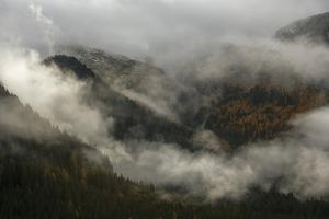 Clouds Drift over Forests in Lagorai by Ulla Lohmann