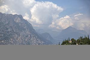 Lake Garda Near Malcesine by Ulla Lohmann