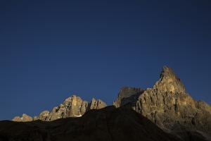 The Cimon Della Pala on a Clear Day by Ulla Lohmann