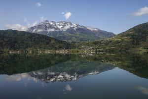 Village of Calceranica Al Lago, on the Lago Di Caldonazzo Between the Ecth and Valsugana Valleys by Ulla Lohmann