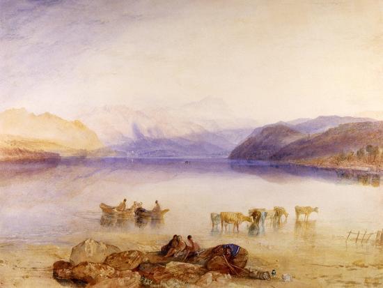 Ullswater, Cumberland, C.1835-J^ M^ W^ Turner-Giclee Print