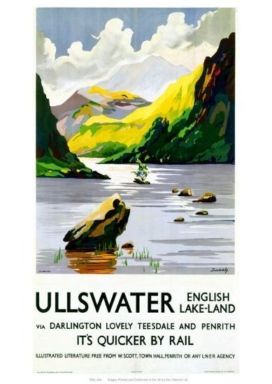 Ullswater English Lake-Land--Giclee Print