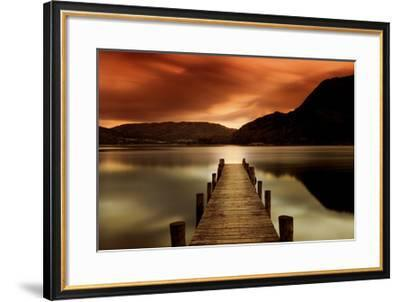 Ullswater Glenridding Cumbria Art Print Mel Allen Art Com