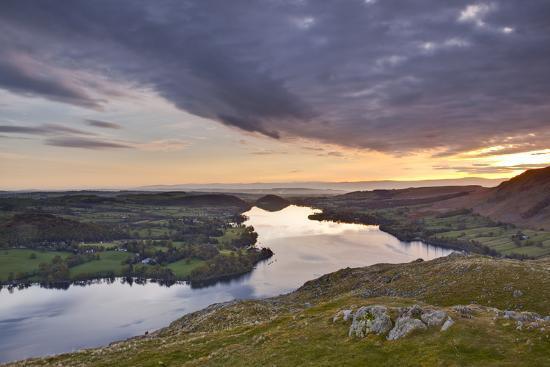Ullswater in the Lake District National Park, Cumbria, England, United Kingdom, Europe-Julian Elliott-Photographic Print
