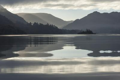 Ullswater, Little Island in November, Lake District National Park, Cumbria, England, UK-James Emmerson-Photographic Print